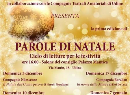 Lettura per Associazione Teatrale Friulana
