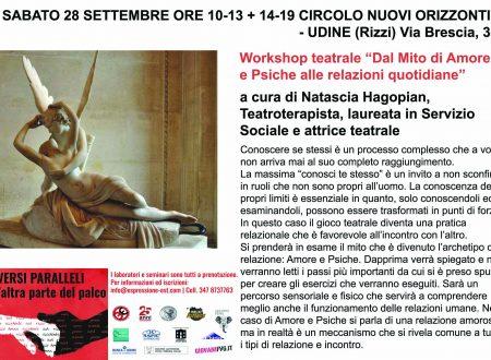 Tre workshop gratuiti a settembre!
