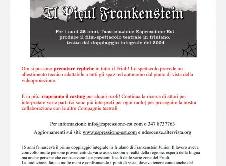 Piçul Frankenstein: repliche e nuovo casting