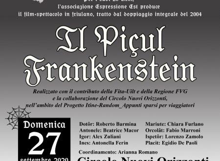 Piçul Frankenstein – il film spettacolo…si replica!