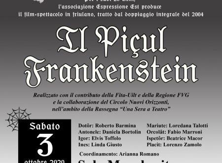 Piçul Frankenstein a Tarcento!