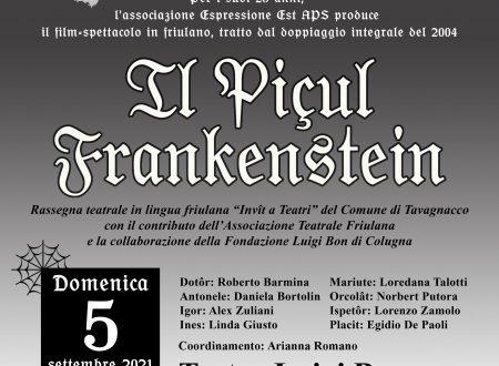"""Ritorna """"Il Piçul Frankenstein"""" il Film-Spettacolo!"""